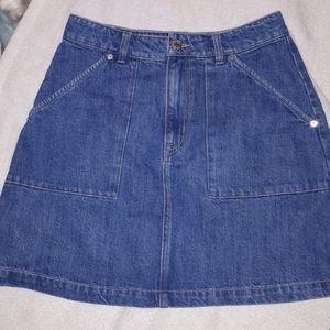 Good Cotton Eco Dye Denim miniskirt